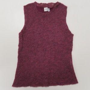 Anne Klein Alpaca Wool Blend Sweater Tank